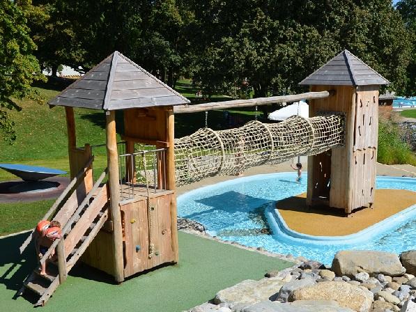 Kletterbogen Schweiz : Schaffhausen spielanlage aus edelkastanie fuchs thun